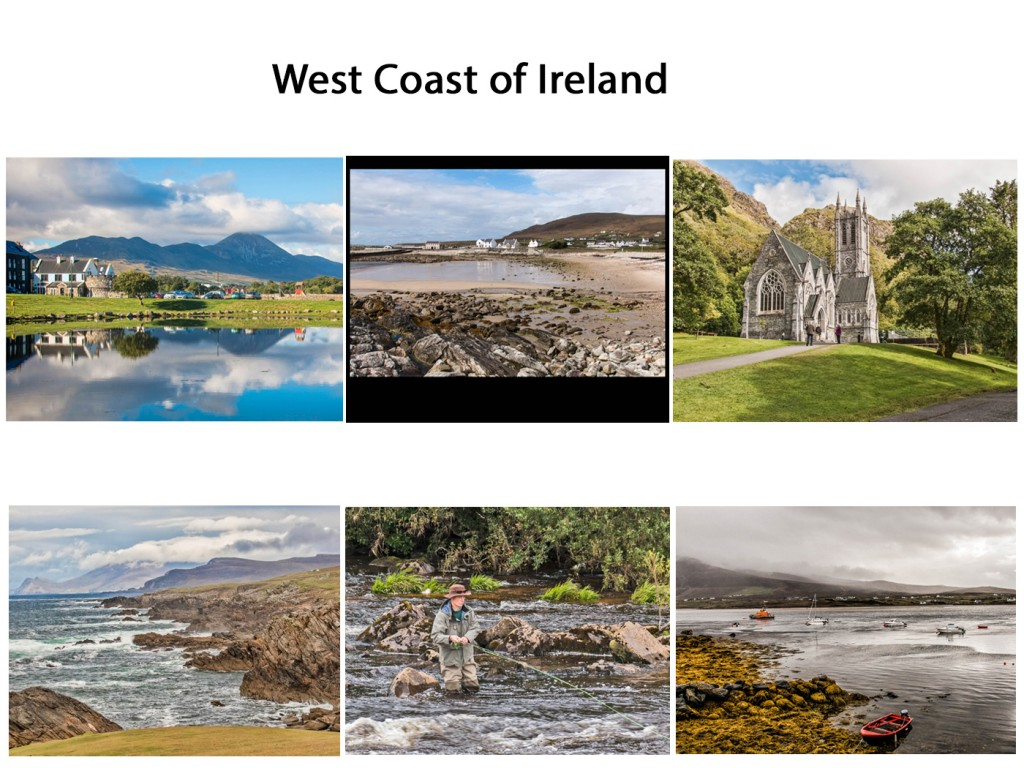 "Commended - West Coast of Ireland by Les Walsh. Judges Comments "" Beautiful representation of the rugged coastline of the West Coast of Ireland. Exceptional details and colours"""